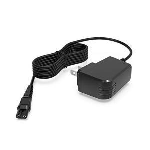 シェーバー充電器 15V Philips/フィリップス用 QG HQ QC AT PT RQシリーズ 9000 7000 5000 3000 シリーズ との互換性あり ACアダプター 電源アダプター 充電コー rokufi