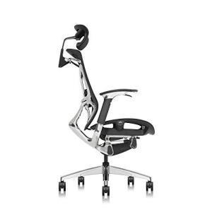 Aboval ABchair PRO オフィスチェア デスクチェア 【プロ】人間工学椅子 座り姿勢自動適応 ダブルブレーキ力機構台座の機械動き構造システム 腰痛を避けることが|rokufi