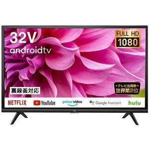TCL 32型 フルハイビジョン スマートテレビ(Android TV) 32S5200A Amazon Prime Video対応 外付けHDDで裏番組録画対応 2021年モデル|rokufi