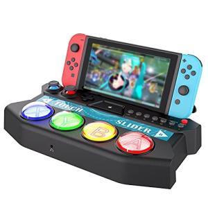 『初音ミク Project DIVA MEGA39?s』専用ミニコントローラー for Nintendo Switch ipega 初音ミク専用ミニアケコン Switch コントローラー ipega-SW056|rokufi