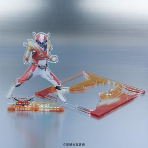 Knative Heroes アクリルフィギュア イバライガーR〈時空戦士イバライガー〉茨城県 rokumei-store