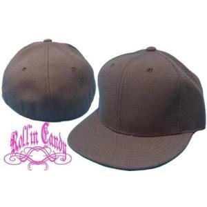 カスタム自在♪無地ベースボールキャップ 【ブラウン】 ダンサー ダンス 衣装 野球帽 メンズ レディース キッズ 帽子 小さいサイズ 大きいサイズ ヒップホップ|rollincandy