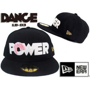 定価¥7,980 NEWERA(ニューエラ)×DANCE LB-03 POWERベースボールキャップ ブラックレディース 小さいサイズ キッズダンサー ダンス ヒップホップ HIPHOP B系|rollincandy