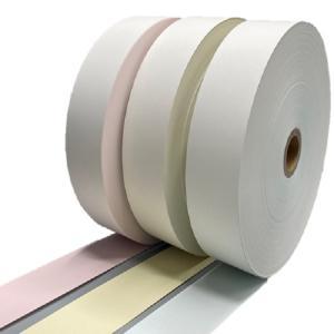 ポイント2倍! 券売機 ロール紙  5巻入り ピンク ミシン無し 幅57.5mm 長さ300M 食券 感熱ロール サーマルロール チケットロール 発券機|rollpaper-net