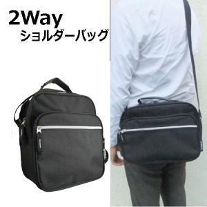 斜め掛けショルダーバッグ メンズ 横型 B5サイズ手提げ付き 2Way シンプルデザイン お出かけミニショルダー 男女兼用 旅行 サブバッグ|romanbag