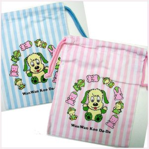 NHK放送中!いないいないばぁ!巾着袋 メール便可 romanbag