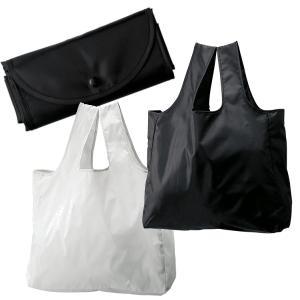 折りたたみエコトート マイバッグ おしゃれレジバッグ お買い物袋 エコバッグ Lサイズ 6色 メール便可|romanbag