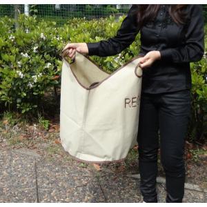 使い方いろいろ マチが広く使いやすい!! ファブリックバッグ ラウンド クリーニングバッグ 送料無料|romanbag
