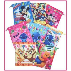 Disneyミニ巾着 激安!ディズニー 巾着袋 コップ入れ 小物入れに★Sサイズ メール便可 romanbag