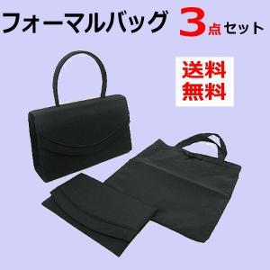 卒園式 卒業式 入園式 入学式 レディース ブラック フォーマルバッグ3点セット|romanbag
