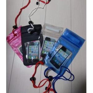 防水ポーチ 防水カバー 防水ケース スマホ スマートフォン iphone対応 小銭 水遊び アウトドア 旅行 お風呂 romanbag