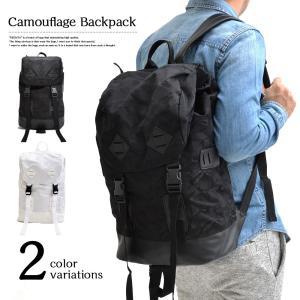 迷彩 カジュアルリュックサック 男女兼用 デイバッグ 大容量 機能性 A4サイズ 通勤 通学鞄に アウトドア|romanbag