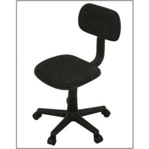 スリム オフィスチェアー 事務所用椅子 肘無し イス お買得 ガスシリンダー機能付き|romanbag