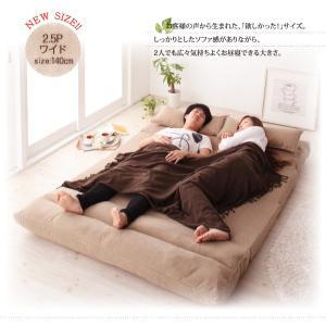 日本製 ソファベッド クッション付き スエードタイプ スエードタイプ 横幅140cm ダブルサイズベッドに|romanbag