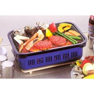 カルネ 角型水冷バーベキューコンロ キャプテンスタッグ 本格炭焼き料理|romanbag
