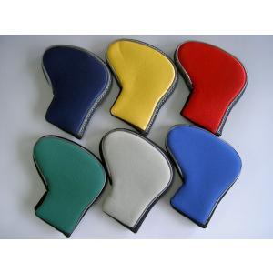 ゴルフパターカバー  厚手のスポンジ生地でヘッドを保護 メール便可|romanbag