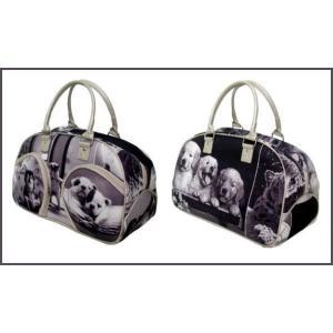 〔送料無料〕お揃い可愛いどうぶつ柄シリーズ ボストンバッグ|romanbag