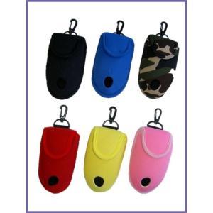 ゴルフボールポーチ ボールケース 2ヶ用 おしゃれで便利 取り出しやすい 掛けフック付き メール便可|romanbag