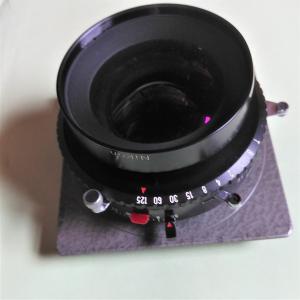大判カメラ用ニコンレンズ ニッコールW240mm 1:5.6 RITTRECKVIEW本体オマケ 中古(オブジェ向き)