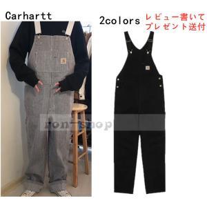 カーハート (Carhartt) オーバーオール メンズ 大きいサイズ メンズ 作業着 作業服 サロ...