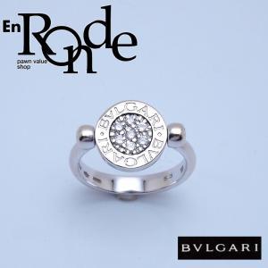 ブルガリ BVLGARI 指輪リング リング フリップ K18WG/オニキス/ダイヤ ホワイトゴールド 中古 新入荷 おすすめ BV0095 新着|ronde