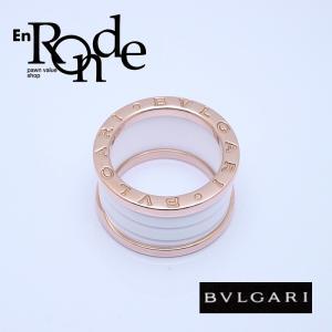 ブルガリ BVLGARI 指輪リング リングBzero1 K18PG/ホワイトセラミック ホワイト系 中古 新入荷 おすすめ 新着|ronde