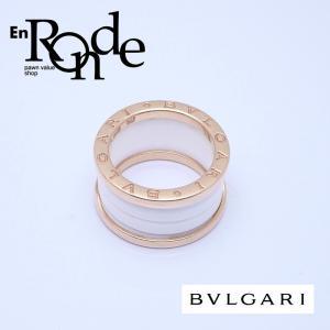 ブルガリ BVLGARI 指輪リング B-zero1 リング K18PG/ホワイトセラミック ピンクゴールド 中古 新入荷 おすすめ|ronde