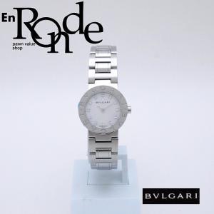 ブルガリ BVLGARI レディース腕時計 ブルガリブルガリ BB23SS SS/ダイヤ シェル文字盤 中古 新入荷 おすすめ BV0098 新着 ronde