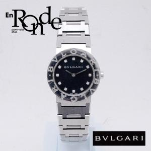 ブルガリ BVLGARI レディース腕時計 ブルガリ ブルガリ BB26SS SS/12PD ブラック文字盤 中古 新入荷 おすすめ BV0081 ronde