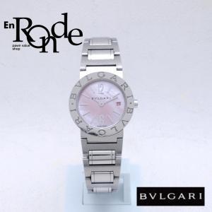 ブルガリ BVLGARI レディース腕時計 ブルガリブルガリ BB26SS SS(ステンレス) ピンクシェル文字盤 中古 新入荷 おすすめ BV0093 ronde