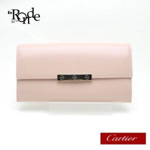 カルティエ Cartier 長財布 ラヴコレクション カーフ ピンク 中古 おすすめ|ronde