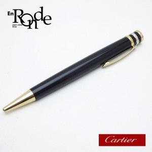 カルティエ Cartier 筆記具 トリニティ ボールペン GP(金メッキ) 黒/スリーゴールド 中古|ronde