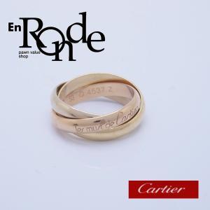 カルティエ Cartier 指輪リング トリニティリング K18YG/PG/WG スリーゴールド 中古 新入荷 おすすめ CA0379 新着|ronde
