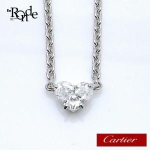 カルティエ Cartier ネックレスペンダント ラブサポート K18WG/約ダイヤ0.9ct 中古 おすすめ|ronde