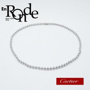 カルティエ Cartier ネックレスペンダント ペルルドディアマン K18WG/ダイヤ 中古 新入荷 おすすめ 新着|ronde