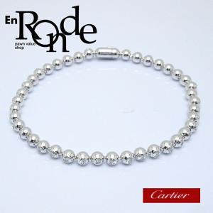 カルティエ Cartier ブレスレットバングル ペルルドディアマン K18WG/ダイヤ 中古 新入荷 おすすめ 新着|ronde