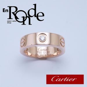 カルティエ Cartier 指輪リング ラブリング K18PG/ダイヤ ピンクゴールド 中古 新入荷 おすすめ CA0374|ronde