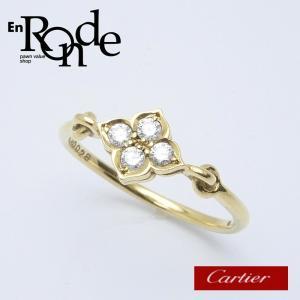 カルティエ Cartier 指輪リング ヒンドゥ リング  K18/ダイヤ ゴールド 中古 新入荷|ronde