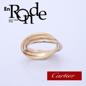 カルティエ Cartier 指輪リング トリニティリング K18 ゴールド系 中古 新入荷 おすすめ CA0126|ronde