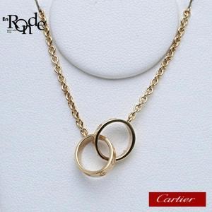 カルティエ Cartier ネックレスペンダント ベビーラブネックレス EJ7971 K18PG(ピンクゴールド) ピンクゴールド 中古|ronde