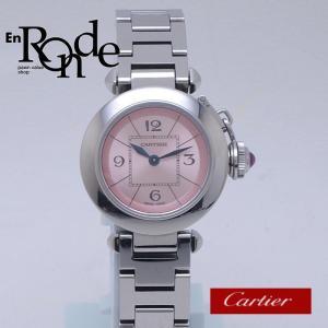 カルティエ Cartier レディース腕時計 ミスパシャ SS ピンク文字盤 中古 新入荷 おすすめ|ronde