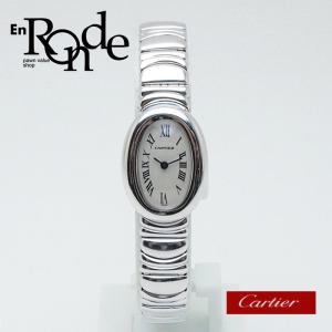 カルティエ Cartier レディース時計 ミニベニュワール K18WG 白文字盤 中古 新入荷 おすすめ|ronde