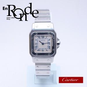 カルティエ Cartier レディース腕時計 サントスガルベSM SS(ステンレス) アイボリー文字盤 中古 新入荷 おすすめ|ronde