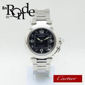 カルティエ Cartier メンズ腕時計 パシャC SS(ステンレス) ブラック文字盤 中古 新入荷 おすすめ CA0362 ronde