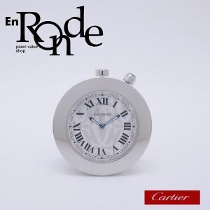 カルティエ Cartier その他の時計 トラベルクロック パシャ SS シルバー文字盤 中古 新入荷 おすすめ CA0382 新着|ronde