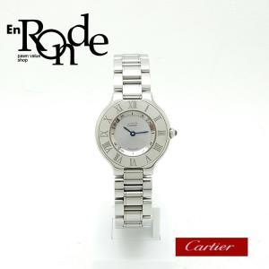 カルティエ Cartier レディース腕時計 マスト21 W10109T2 SS(ステンレス) シルバー文字盤 中古 新入荷 おすすめ|ronde