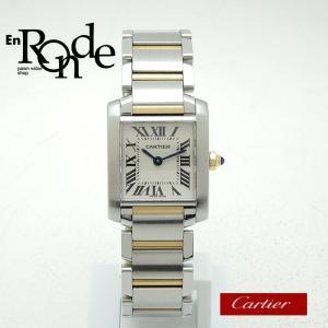 カルティエ Cartier レディース腕時計 タンクフランセーズSM W51007Q4 SS/K18 ホワイト文字盤 中古 新入荷 おすすめ|ronde