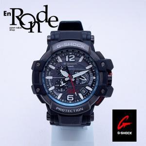 カシオ メンズ腕時計 Gショック グラヴィティマスター GPW-1000 SS/ラバー ブラック文字盤 中古 新入荷 おすすめ 新着|ronde
