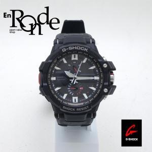 カシオ メンズ腕時計 Gショック GW-A1000 SS/ラバー ブラック文字盤 中古 新入荷 おすすめ 新着|ronde