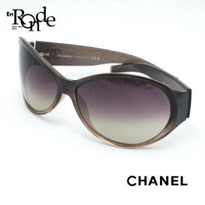 シャネル CHANEL サングラス サングラス  プラスティック ブラウングラデーション 中古|ronde